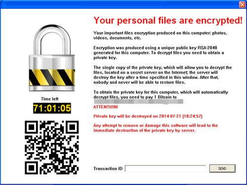 Cryptolocker Malware prevention